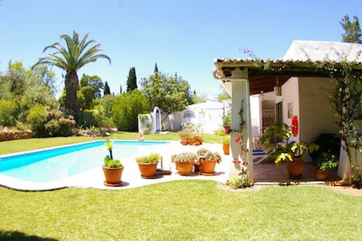 Very charming villa, private pool & lovely garden.
