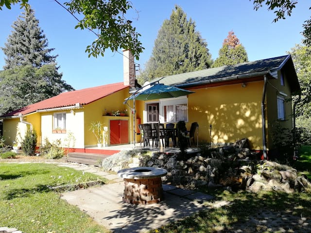 For rent Danube beach holiday home in Szentendre