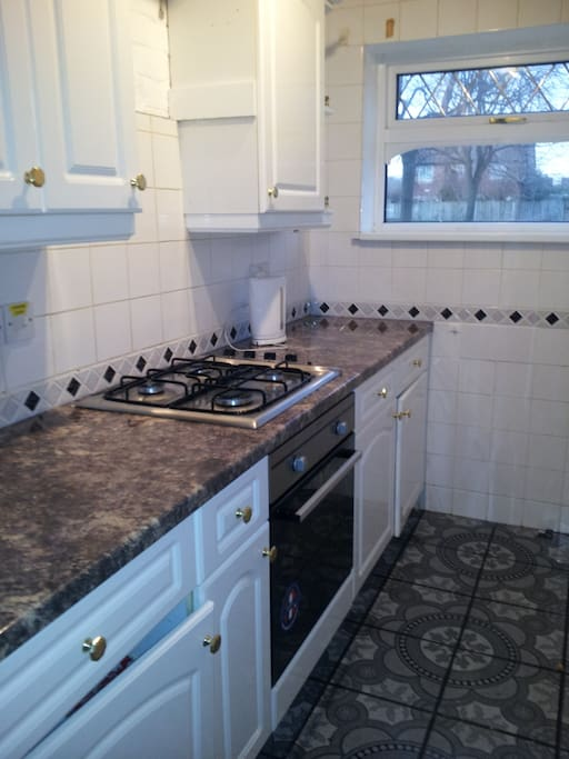 Cooker and Gas Hob
