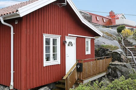 Mysigt nyrenoverat hus på underbar ö nära Göteborg - Göteborg - Blockhütte