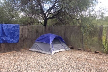Fenced camping yard, bring the dog! - Stan