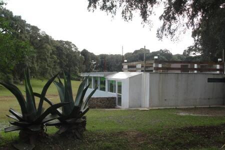 Relájate y vive la experiencia Finca Casa Grande - 墨西哥城 - 自然小屋