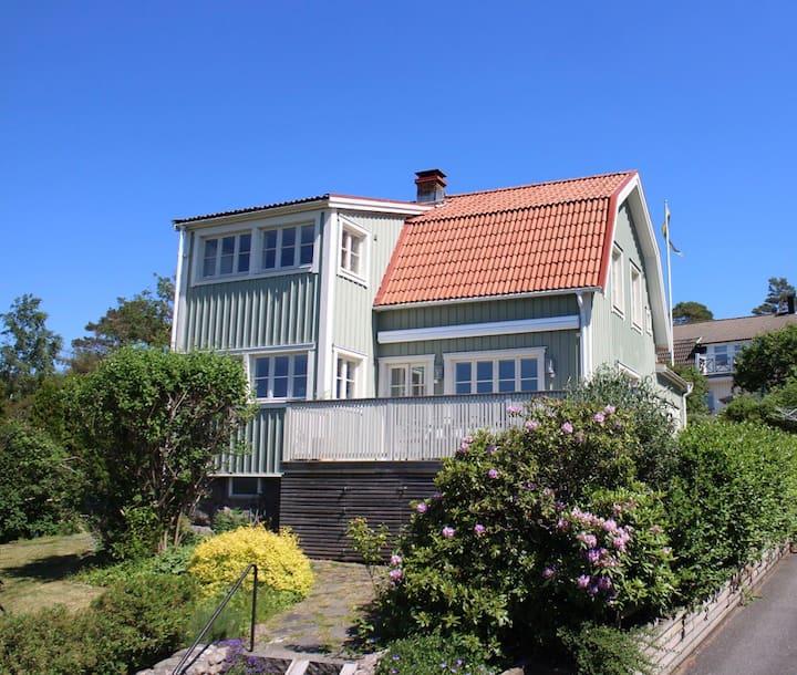Fantastiskt hus med vacker havsutsikt