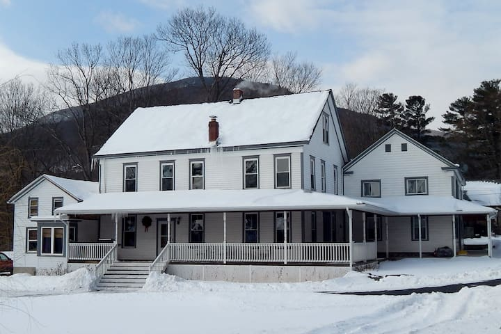 Stately Civil War House by Hunter Mountain Skiing