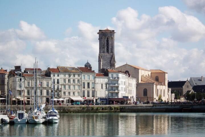 Charmant T2 Centre Ville à deux pas du vieux port - La Rochelle - Apartamento
