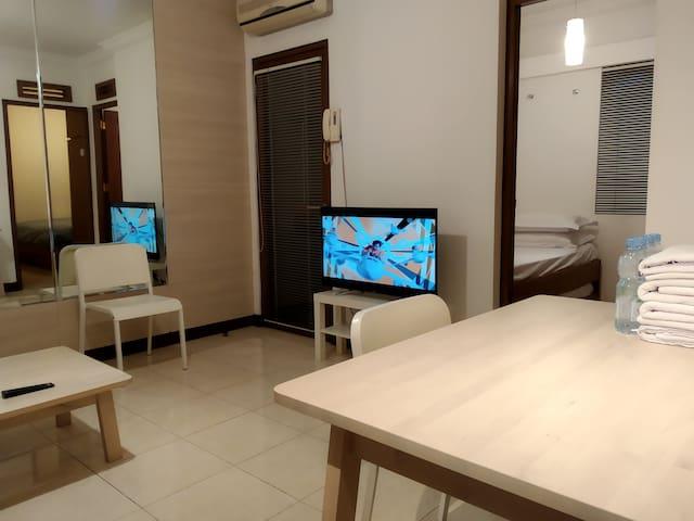 Majesty Apartment 2 BR Pasteur Maranatha Univ 4pax