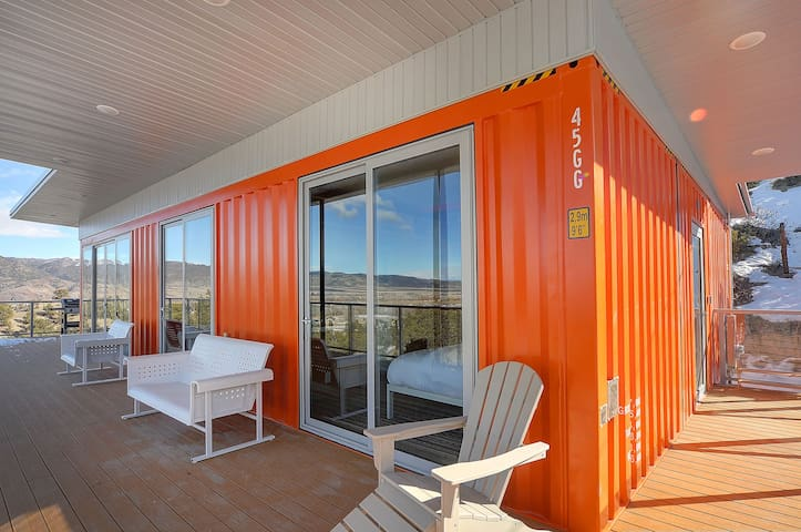 New Salida Shipping Container Home w/ Crazy Views!