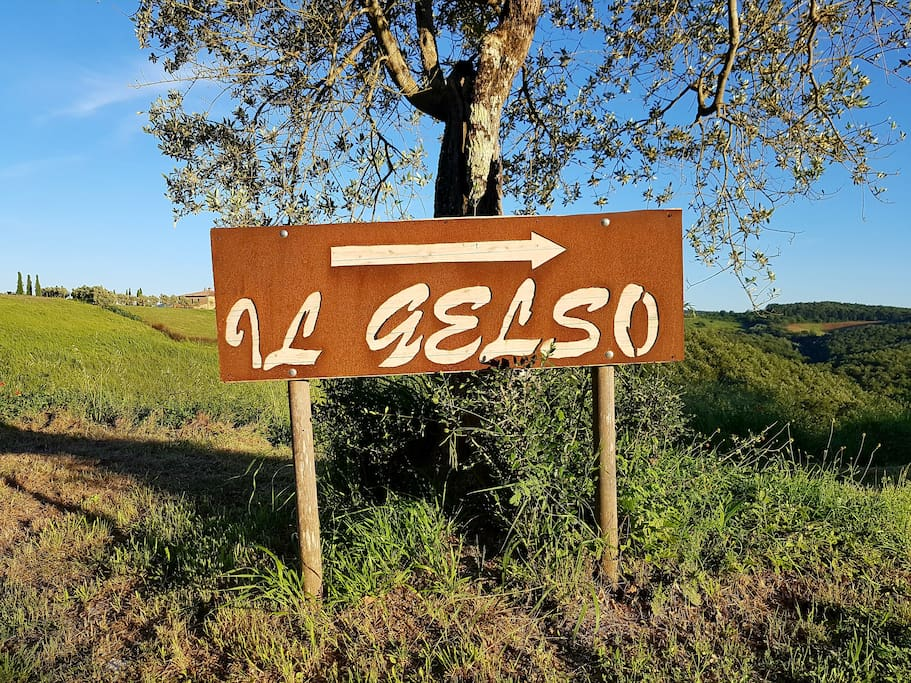 Il Gelso sign