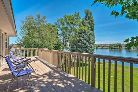 Moses Lake Home w/Dock, 1 Mi to Surf 'n Slide
