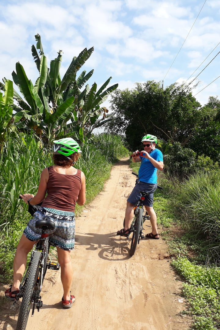 See Mekong countryside By Bike