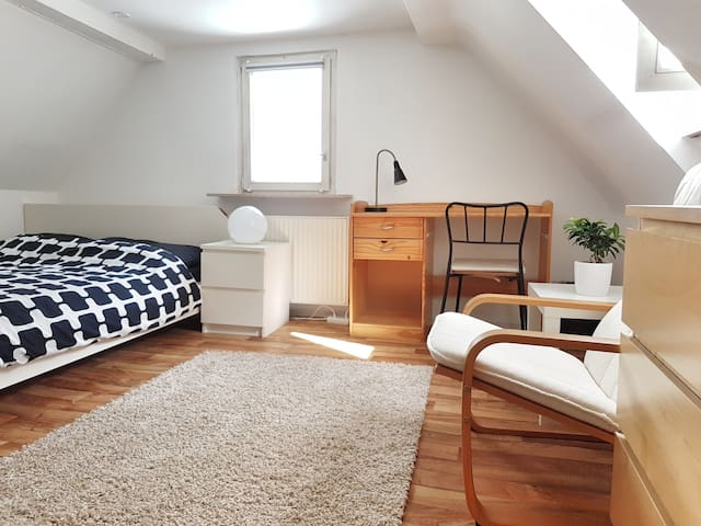 Room in Stuttgart-East. Easy access to city center - Stuttgart - Apartamento