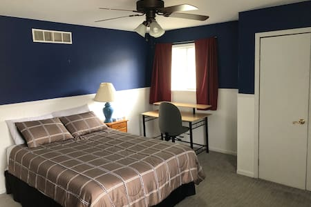 Spacious Room with Private Bath, Washer, & Dryer