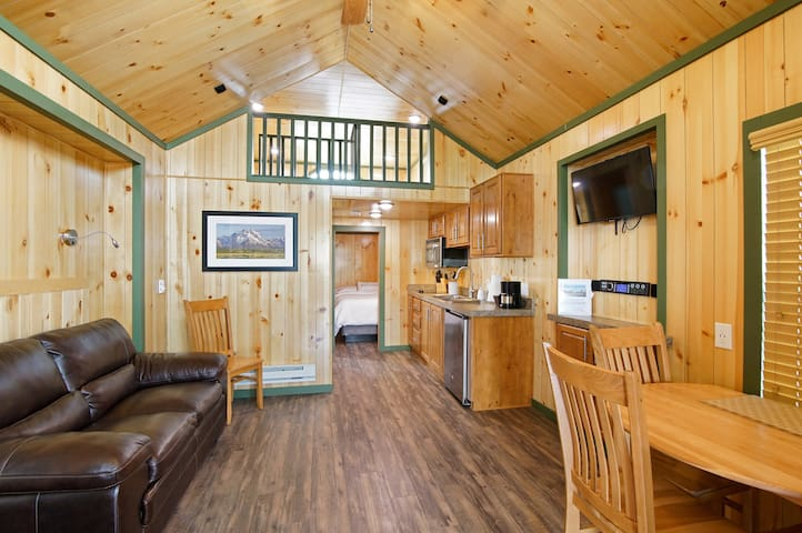Charming Tiny Home w/ Private bedroom & Loft