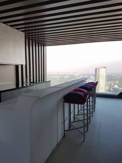 Sky lounge on 37 floor