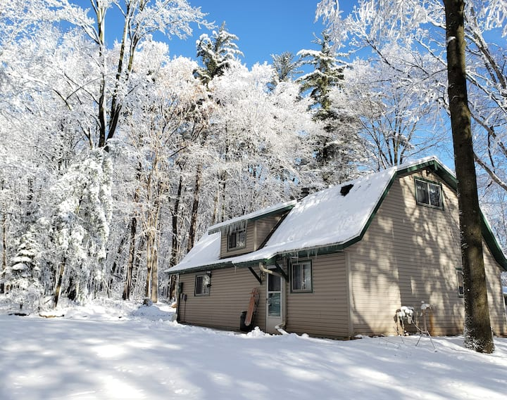 Barn In The Woods Lodge ~ Winter Get Away!