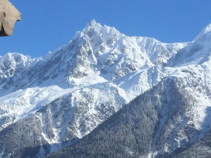 Appartement ski aux pieds à Chamonix-les Houches