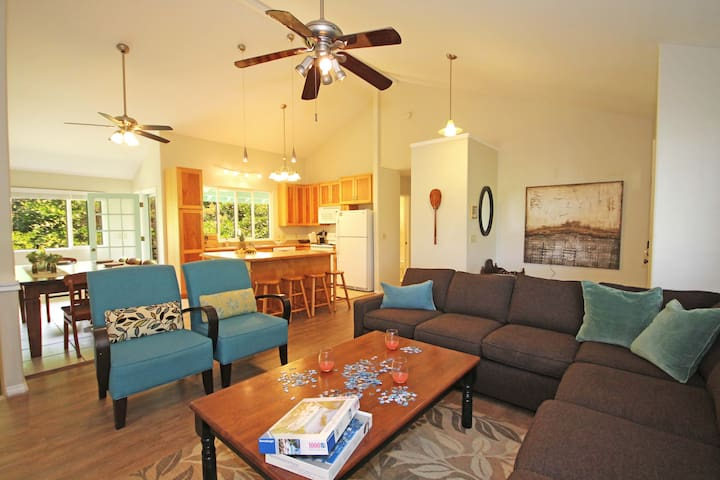 Amazing Home 2-Minute Walk From Poipu Beach!