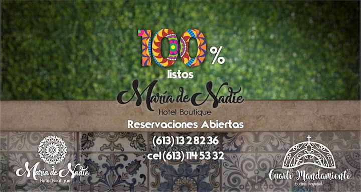 """Maria de Nadie """"Hotel Boutique"""""""