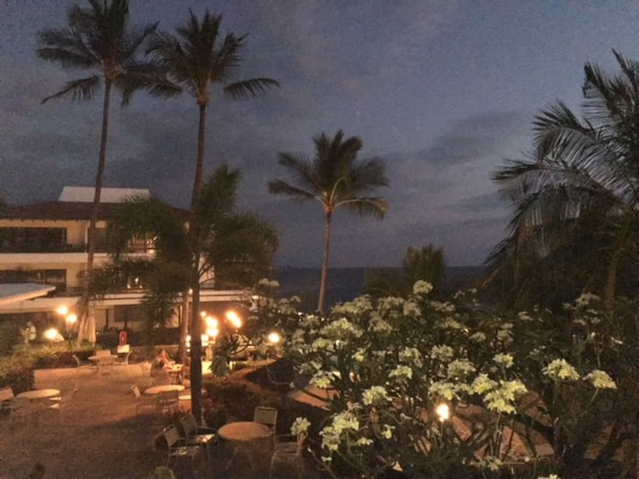 Evening Views At Casa De Emdeko Kona