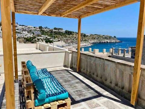 Casa Punta Correnti - Rooftop Terrace Seaview