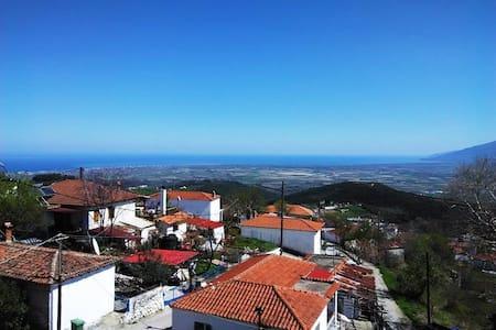 Βίλλα Αιγάνη, Όλυμπος, Υπέροχη Θέα - Aigani