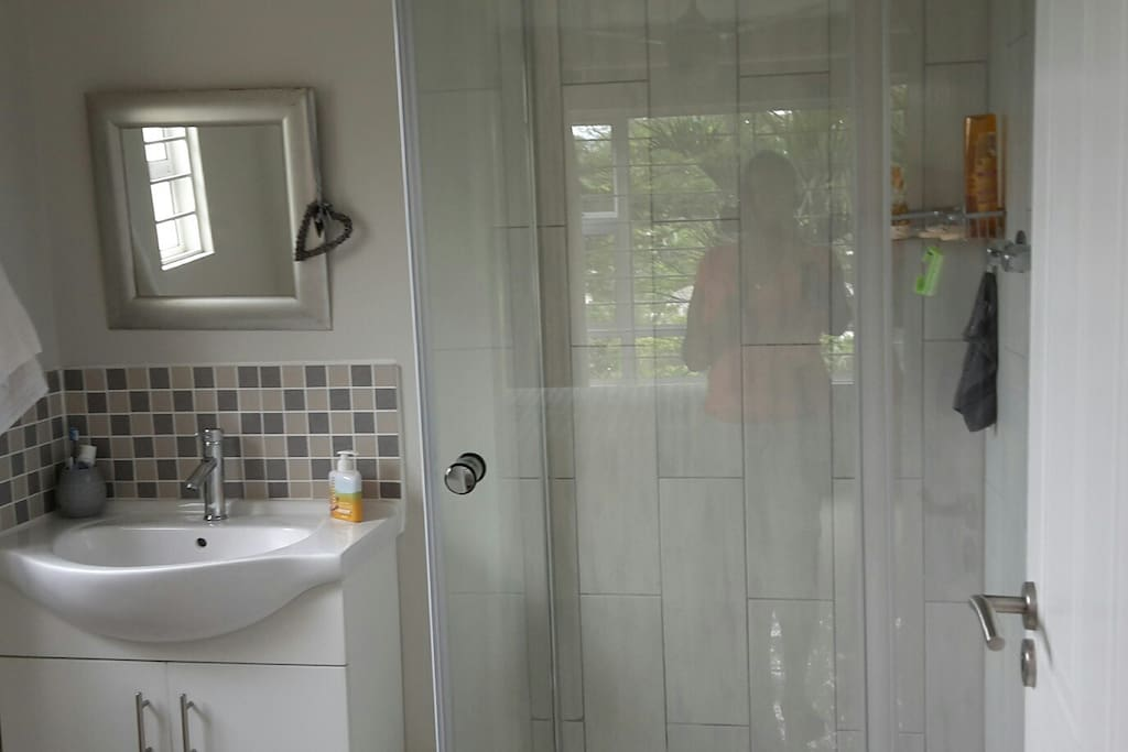 En-suite bathroom with shower only