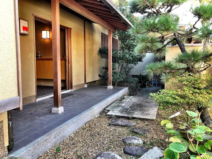 20mins from Namba!Free parking!Traditional house15