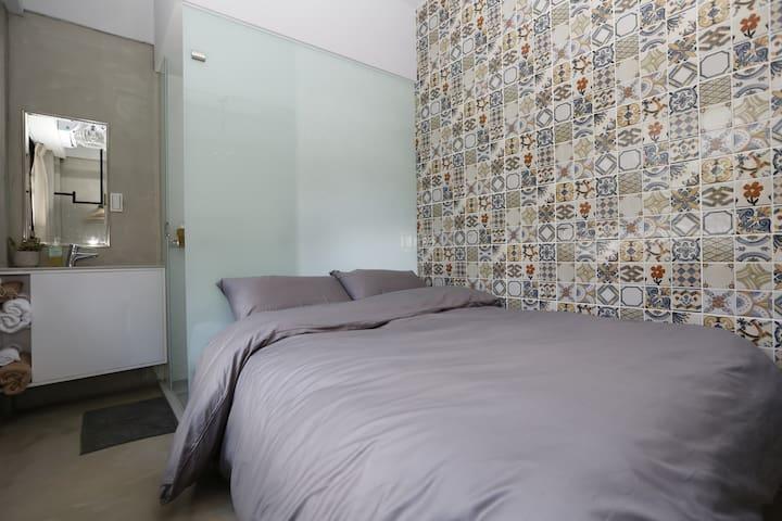 Taipei Dongmen Cozy room---Ke Zuo 201