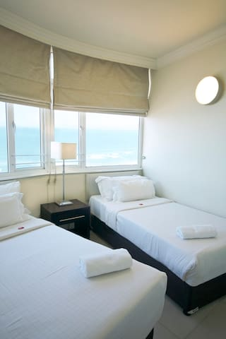 Blue Waters Hotel-Deluxe North Facing Four Sleeper