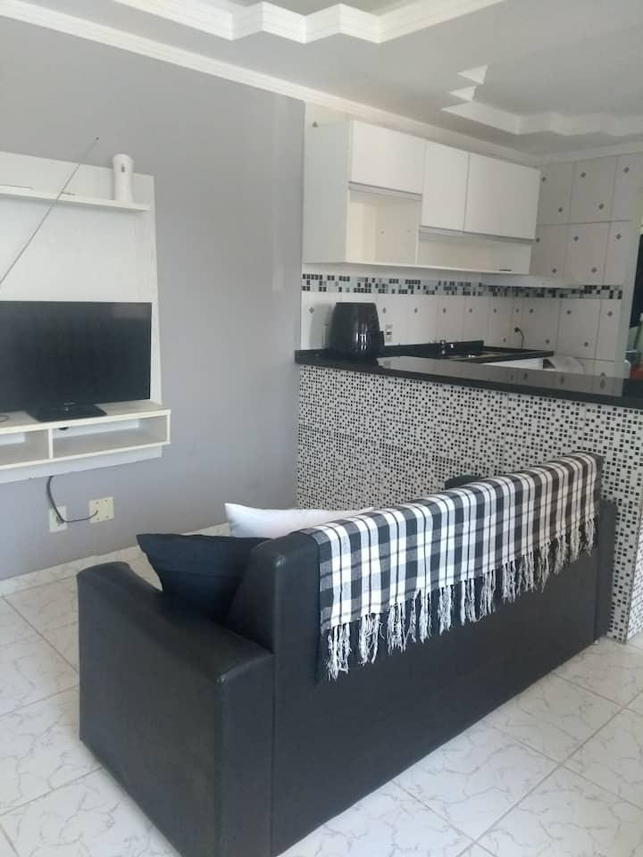 Apartamento aconchegante em Bertioga.