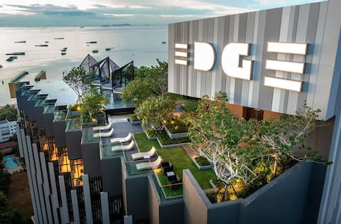 Lovely 1 Bedroom Condo in Pattaya Town Center with Sea View