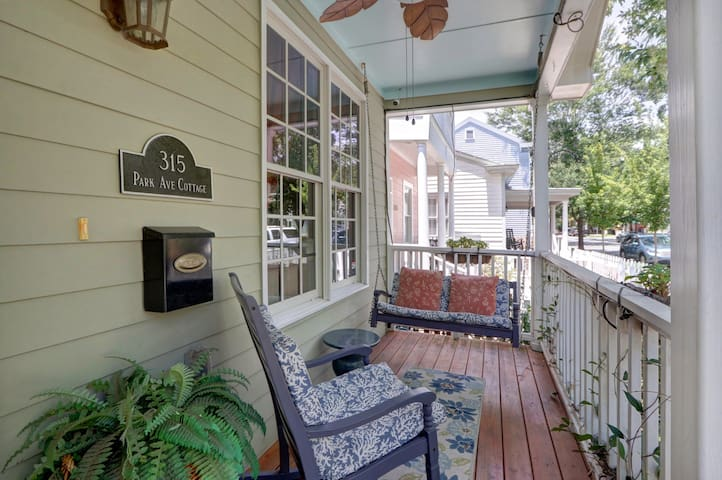 Soak up the charm of the southern lifestyle on our picturesque front porch!