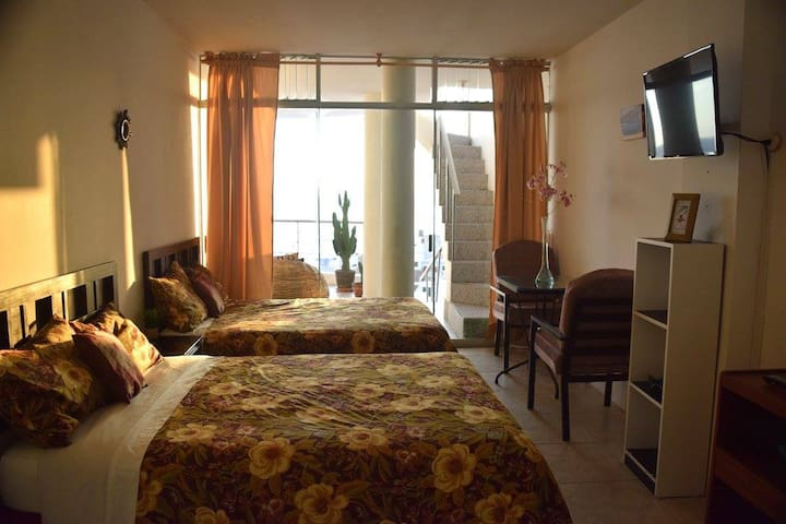 Hostal Casa Punta Negra. Doble Room - Lima - House