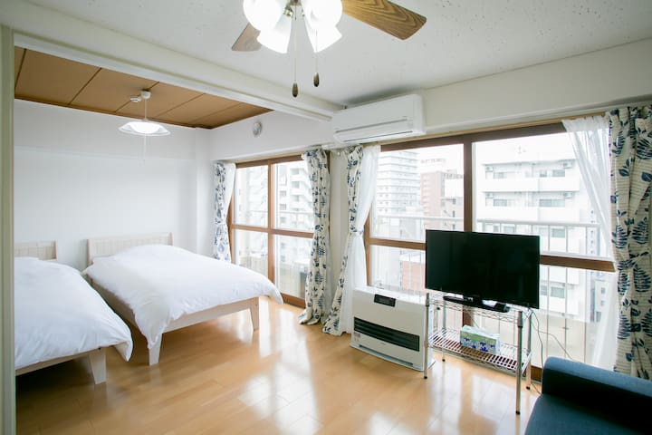 No.4 Great access Apt with huge comfortable space