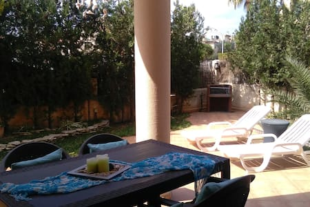 Perfect location to visit the island - garden, bbq - Marratxí