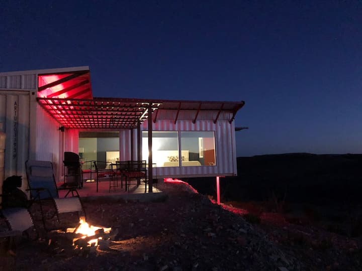 Fossil Knob Ridge -248: Ultra-Modern Container Home