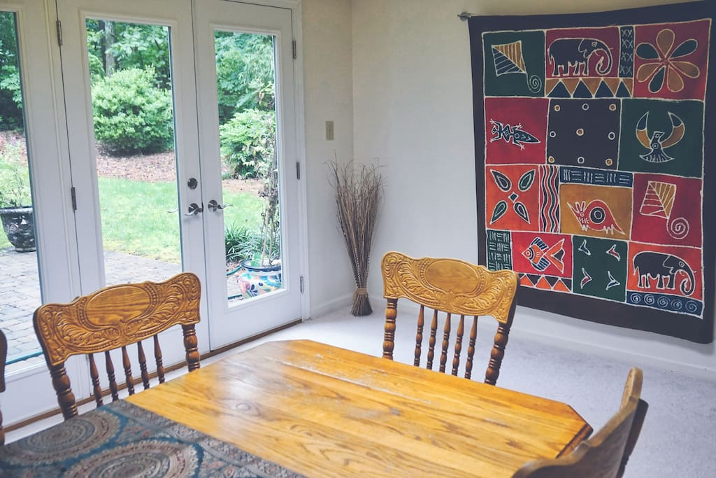 Dining Table with Private Entry