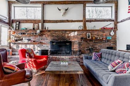 Restored Farmhouse with Yoga Studio