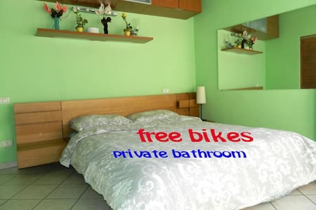 room3 (15min to center by bike/bus) - Firenze - House