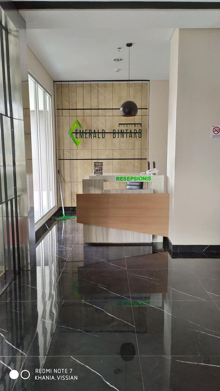 Available for rent in Apartement Emerald Bintaro