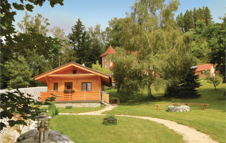 Holiday cottage with 1 bedroom on 36m² in Becov nad Teplou
