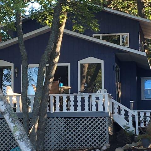 Lake cottage on gorgeous Clear Lake