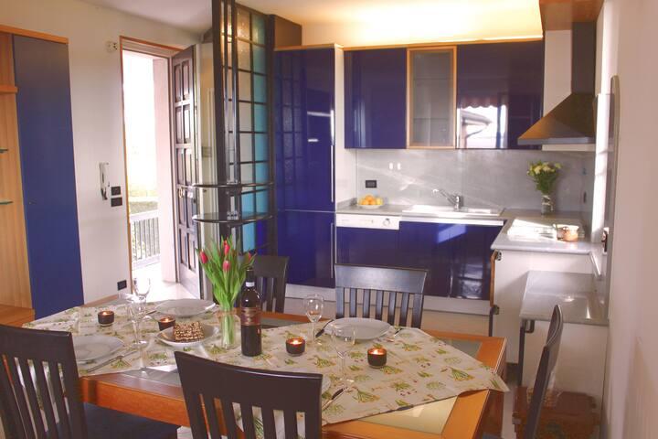 Wohnung SANDRA - Seeblick - 6 Personen