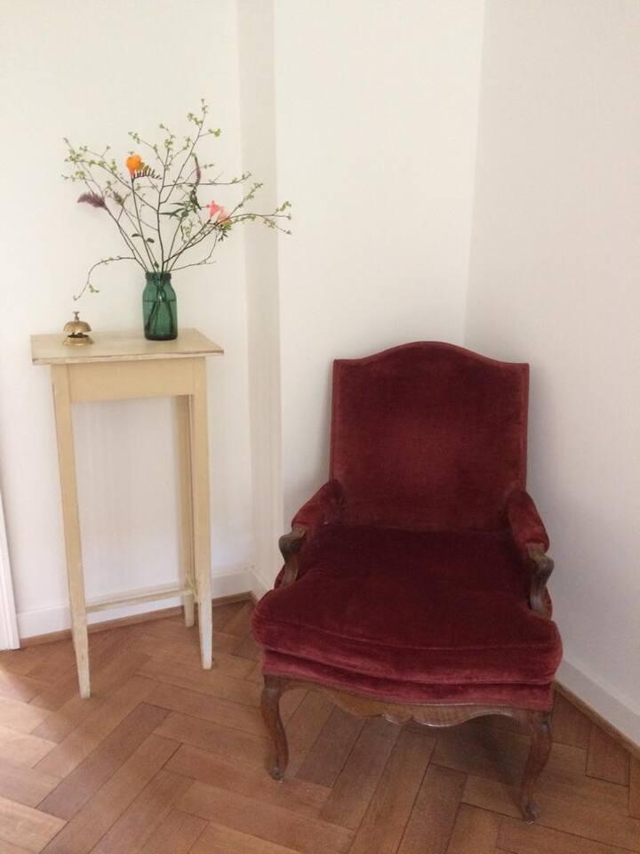 Loft in altem Stadthaus; Cydonia Bett & Brot