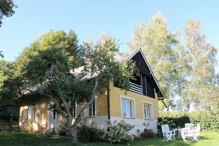 An eight-person holiday home on a 1600 hectare estate.