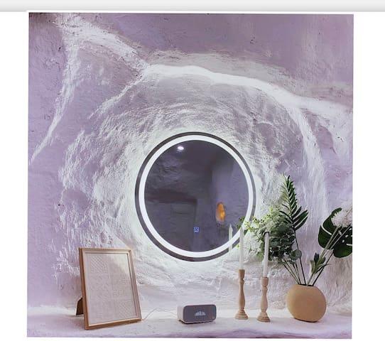 【蛋壳eggshell·予你】土耳其洞穴风·智能房间/大屏投影美宿/近地铁二号线/嘉茂/海亮/大召