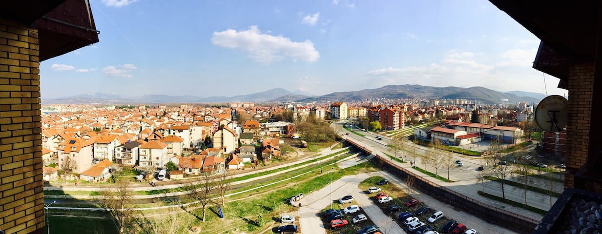 Charming apartment, amazing view - Niš - Leilighet