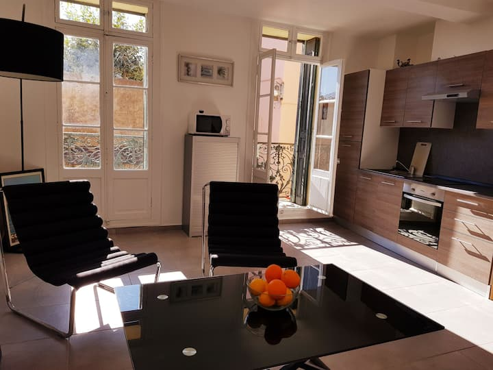 Appartement à 20 mètres de la plage de Collioure