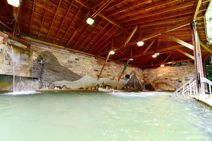 Lusan Hotspring 4-persons room,close to  Cingjing - Ren'ai Township - Hostel