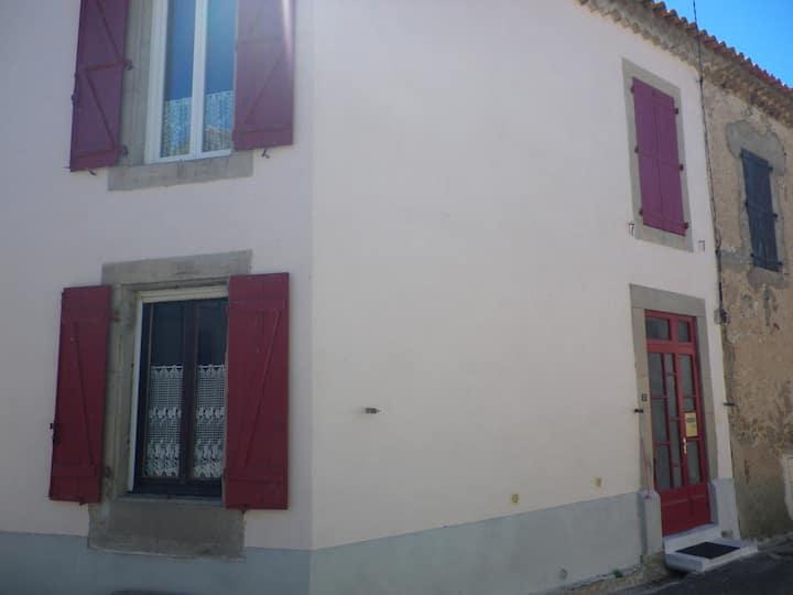 maison de village dans le Minervois.